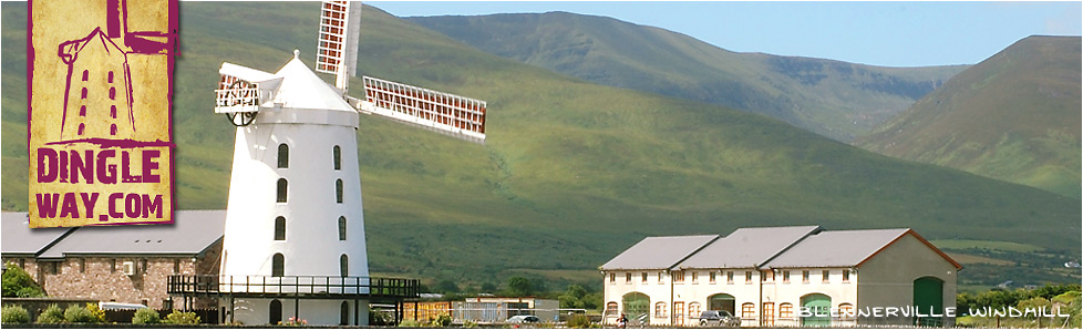 Blennerville Windmill. Blennerville, Tralee, County Kerry.
