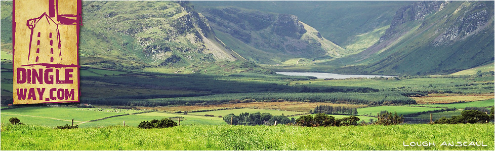 Lough Anscaul from the Dingle Way, County Kerry