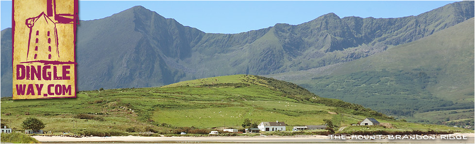Mount Brandon Ridge from Stradbally County Kerry